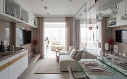 'Tuyệt chiêu' giúp căn hộ 35 m2 sang trọng như rộng gấp đôi