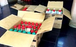 TP.HCM: Phát hiện cơ sở nghi kinh doanh dầu nhớt giả nhãn hiệu Castrol
