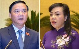 Quốc hội bỏ phiếu kín miễn nhiệm ông Nguyễn Khắc Định, bà Nguyễn Thị Kim Tiến