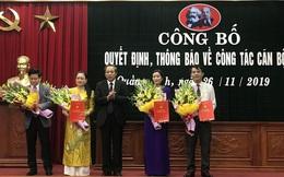 Quảng Bình bổ nhiệm hàng loạt nhân sự chủ chốt