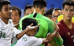 Thành Chung đánh đầu ngược, ghi bàn thắng quý như vàng cho U22 Việt Nam