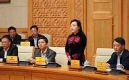Nguyên Bộ trưởng Nguyễn Thị Kim Tiến chia tay các thành viên Chính phủ