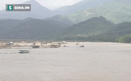 Cận cảnh đại công trường khai thác trên sông Vu Gia, đe dọa an toàn cầu Hà Nha