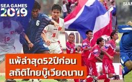 """Về nước sớm sau vòng bảng SEA Games 2019, báo Thái Lan viết đầy cay đắng: """"52 năm rồi chúng ta mới bị loại bởi Việt Nam"""""""