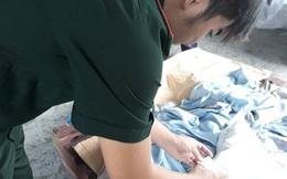 Gối cao su nhập từ Trung Quốc nhưng tem nhãn ghi sản xuất tại Việt Nam