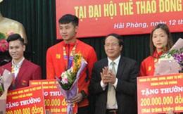 """Hải Phòng trao thưởng """"khủng"""" cho thủ môn Văn Toản và các VĐV đoạt huy chương SEA Games 30: 200 triệu/HCV, 100 triệu/HCB, 50 triệu/HCĐ"""