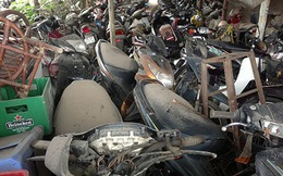 Chậm xử lý, đấu giá: Hàng vạn ô tô, xe máy nguy cơ thành sắt vụn!