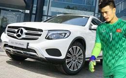 Thú chơi xe sang của đại gia tặng Mercedes-Benz cho thủ môn Bùi Tiến Dũng