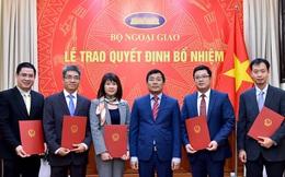 Bộ Ngoại giao điều động và bổ nhiệm nhiều lãnh đạo