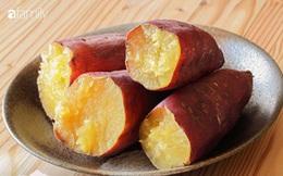 """Nếu ở """"thời điểm vàng"""" này trong ngày bạn ăn 1 củ khoai lang sẽ vừa chống được ung thư vú lại còn giảm cân và sống thọ hơn"""