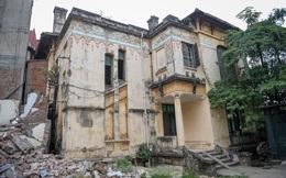 Báo cáo Thủ tướng việc phá bỏ biệt thự cổ trạm phát sóng Bạch Mai