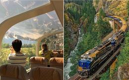 Cận cảnh đoàn tàu view kính 180 độ có thật ở Canada, đi tới đâu là du khách tha hồ ngắm cảnh tuyệt đẹp đến đấy