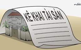 Hà Nội thanh tra việc kê khai tài sản, thu nhập của cán bộ