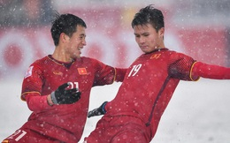 """Quang Hải trả lời AFC đầy xúc động về VCK U23 châu Á: """" Chúng tôi giống như những trái tim trong bão tuyết vậy"""""""