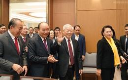 Chùm ảnh Thủ tướng chủ trì Hội nghị Chính phủ với các địa phương