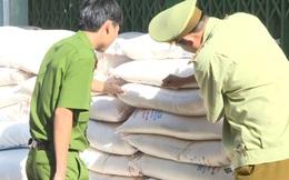 Tạm giữ 5,1 tấn đường tinh luyện không có giấy tờ hợp pháp