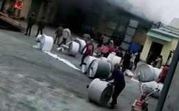 Cháy cơ sở sản xuất bao bì ngày 26 Tết, thiệt hại hàng tỉ đồng