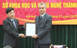 Hà Nội có Giám đốc Sở Khoa học Công nghệ mới