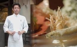 Sở hữu 2 sao Michelin nhờ kỹ thuật chiên tempura hoàn hảo, đầu bếp người Nhật tiết lộ bí quyết cảm nhận nhiệt độ chảo dầu bằng cơ thể