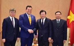 """Nhiều """"ông lớn"""" Mỹ, Hàn muốn rót tiền vào dự án điện khí tại Việt Nam"""
