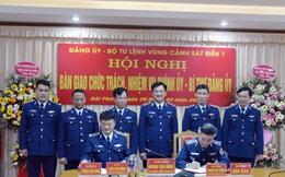 Bổ nhiệm tân Chính ủy, Bí thư Đảng ủy Vùng Cảnh sát biển 1