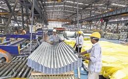 Sức khỏe ngành sản xuất kém đi trong tháng 1