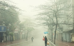 Không khí lạnh khiến miền Bắc mưa rét, có nơi rét đậm