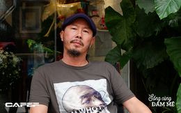 """Nghệ sĩ điêu khắc Đinh Công Đạt: """"Tôi từng cao ngạo nói, khách của Đạt rồ này không biết tiếng Việt vì toàn Tây"""""""