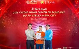 Khách hàng nhận bàn giao Chứng nhận quyền sử dụng đất Stella Mega City đúng cam kết