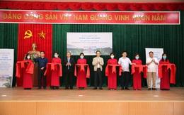Ông Trịnh Văn Quyết tài trợ xây hội trường - nhà văn hóa xã và đường giao thông tại vùng đất quê hương