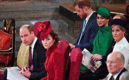 Gia đình Công nương Kate và vợ chồng Meghan Markle chào hỏi xã giao, gần như phớt lờ nhau trong sự kiện mới nhất khiến công chúng thất vọng
