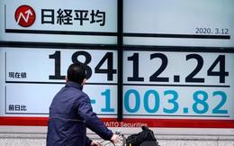 Chứng khoán Nhật giảm 9%, châu Á chìm trong cơn bán tháo