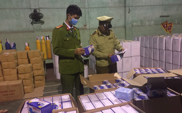 Bắt giữ vụ vận chuyển 27.500 khẩu trang không rõ nguồn gốc tại Bắc Giang