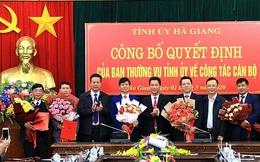 Hà Giang: Công bố quyết định của Ban Thường vụ Tỉnh ủy về công tác cán bộ