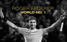 """Sự nghiệp đỉnh cao của huyền thoại quần vợt Roger Federer - Người khởi nguồn triết lý hạnh phúc nước Thụy Sĩ mang tên """"Federerism"""""""