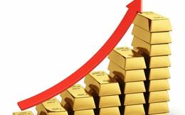 Giá vàng tiếp tục tăng dựng đứng, cao hơn chiều hôm qua 180 USD/ounce