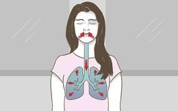 """4 biểu hiện trên cơ thể nhắc nhở phổi của bạn đang """"kêu cứu"""""""