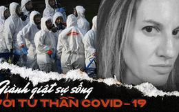 Tâm sự đầy nước mắt của nữ biên tập viên có chồng nhiễm Covid-19: Gồng mình chiến đấu từng phút, chung một mái nhà nhưng bị cô lập, hoảng loạn và bất định