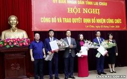 Lai Châu bổ nhiệm nhiều lãnh đạo chủ chốt