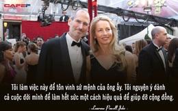 """Người vợ tào khang của Steve Jobs: """"Tôi làm việc để tôn vinh những gì chồng để lại và sẽ dành cả đời để thực hiện điều đó"""""""
