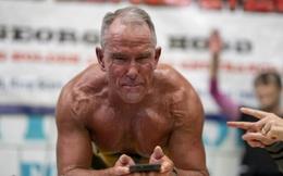 Phá kỷ lục Guinness với hơn 8h ở tư thế plank, người đàn ông 62 tuổi khiến giới trẻ phải thán phục: Sức mạnh con người nào có giới hạn!