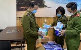 Phát hiện 20.000 chiếc khẩu trang không rõ nguồn gốc tại Hà Nội