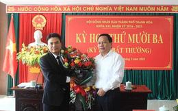 Họp bất thường, TP Thanh Hóa có tân Chủ tịch UBND 48 tuổi