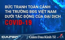 Infographic: Bức tranh toàn cảnh thị trường BĐS Việt Nam dưới tác động của đại dịch Covid-19