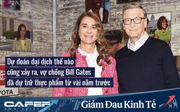 BẤT NGỜ: Dự đoán đại dịch thế nào cũng xảy ra, vợ chồng Bill Gates đã dự trữ thực phẩm và nước uống từ nhiều năm trước trong tầng hầm