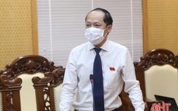 Ông Nguyễn Hồng Lĩnh được bầu làm Phó Chủ tịch UBND tỉnh Hà Tĩnh