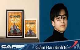 """Chàng trai Việt bán poster chống dịch """"Ở nhà là yêu nước"""", đóng góp cho ATM gạo giúp người nghèo vượt đại dịch Covid-19"""