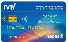 Ngân hàng liên doanh nhập cuộc phát hành thẻ chip nội địa Premium
