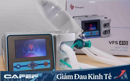 """Sau 3 tuần tuyên bố sản xuất, Vingroup cho ra mắt 2 mẫu máy thở """"made in Vietnam"""" điều trị Covid-19 với tỷ lệ nội địa hóa 70%"""