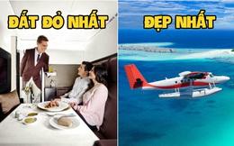 """Tiết lộ 5 kỷ lục thú vị nhất trong ngành hàng không thế giới, từ chuyến bay đẹp nhất đến mức giá siêu đắt đỏ đều """"gây sốc"""" cư dân mạng"""